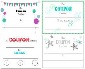 make your own coupons template make your own coupons free printables home