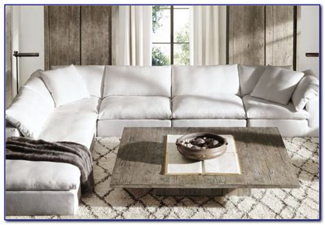 restoration hardware sectional sofa sectional sofa hardware cloud modular sectionals rh