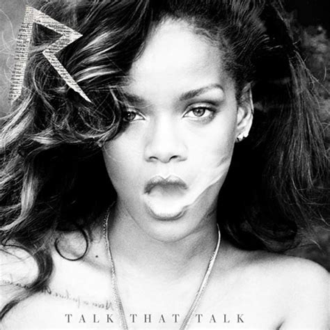 Rihanna Is My New Icon 2 by Rihanna Unveils New Album Talk That Talk Cover