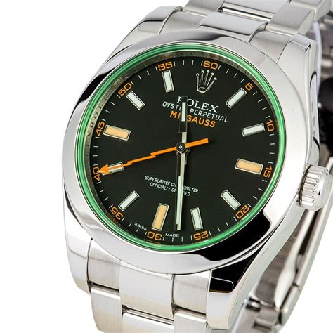 Rolex Millgauss rolex milgauss green sapphire 116400gv