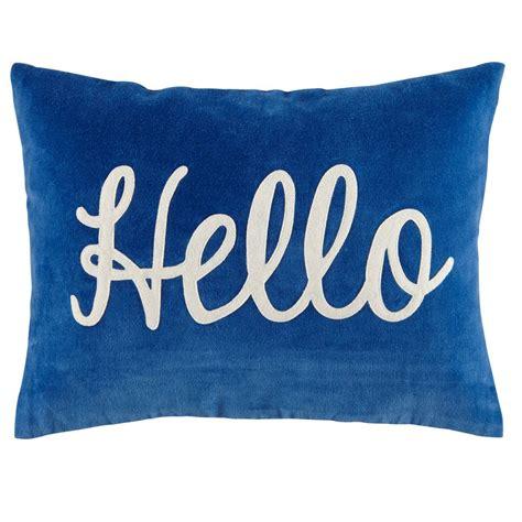 bedroom throw pillows hello throw pillow the land of nod