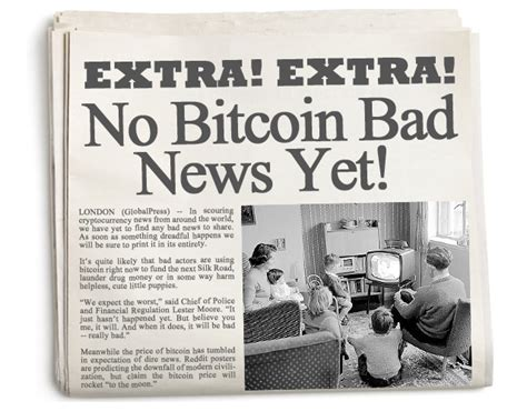 bitcoin news today reporting bitcoin bad news inside bitcoins news price