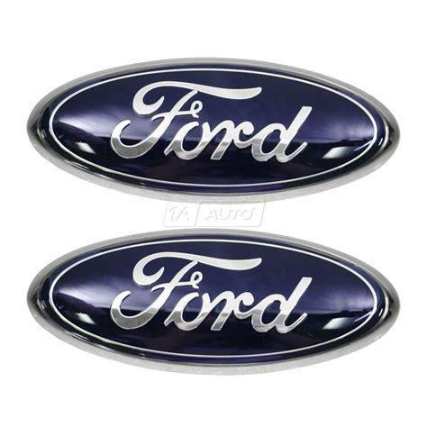 Emblem Grill oem 4l3z1542528ab ford blue oval emblem grille tailgate for 04 08 f150 new ebay