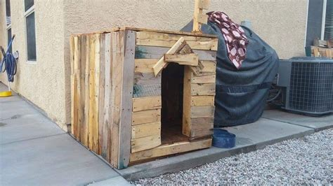 Customizable House Plans by Dog Kennel From Wood Pallet Pallet Ideas Recycled