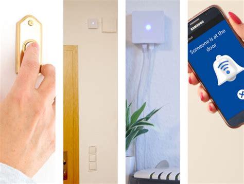 haustür mit einbau mydbell smart home f 195 188 r die t 195 188 rklingel