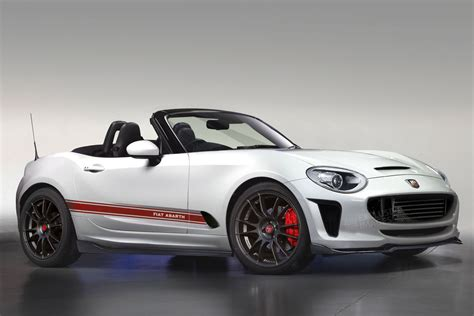 abarth 124 spider to join comfortable fiat