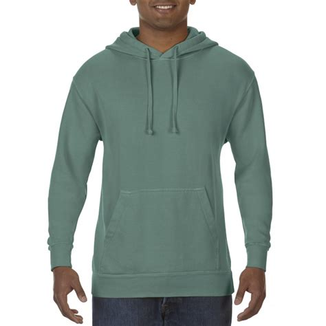 light green comfort colors cc1567 comfort colors hoodie light green gildan