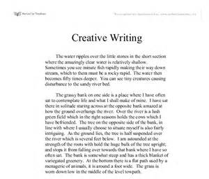 Essay On Save Water Pdf by Creative Writing The Water Ripples The Stones In The Section Where The