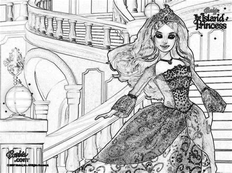 Barbie As The Island Princess Coloring Pages Coloring Home And The Island Princess Coloring Pages