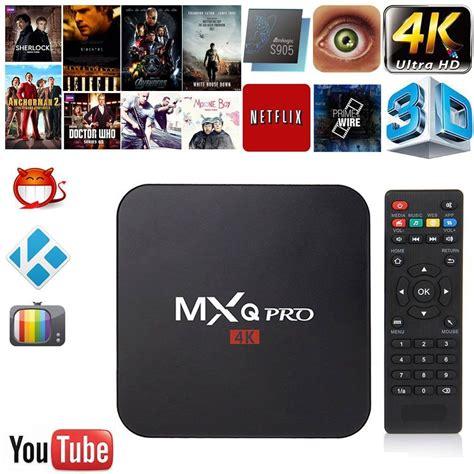 Mxq Pro Smart Android Tv Box Android 51 Amlogic S905 mxq pro smart tv box amlogic s905 set top box android 6 0 kodi 1gb 2gb 8gb 16gb hd