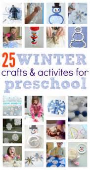 winter crafts activities preschoolers flash cards