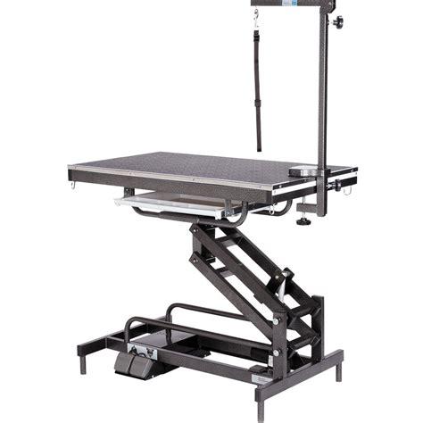 master equipment table master equipment origin electric table black