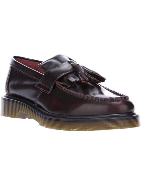 loafers doc martens lyst dr martens adrian loafer in black
