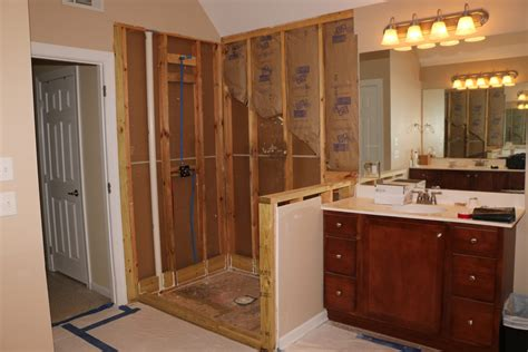 bathroom remodeling knoxville tn infinity construction in progress 2 infinity