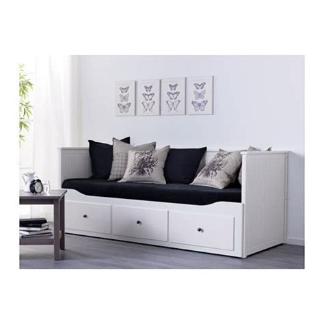 Lit Bébé Tiroir Rangement by Hemnes Structure Divan Avec 3 Tiroirs Blanc Ikea