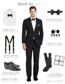proper attire for black tie optional wedding black tie optional