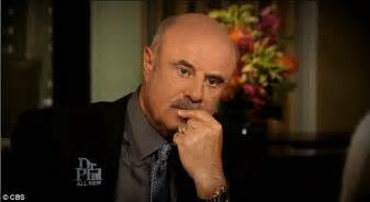 Dr Phil Admits Statement Was Not Helpful by Moment Richards Storms Out On Dr Phil In Tears
