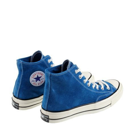 Converse 70s Low Dress Blue converse chuck 70 hi leather in blue for lyst