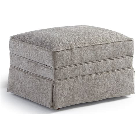 rectangle ottomans best home furnishings ottomans 0010 2 traditional