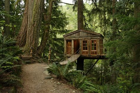 Tiny House Rentals California treehouses architectural business magazine