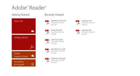 adobe reader free download windows 8 adobe reader for windows 8 available for download softpedia
