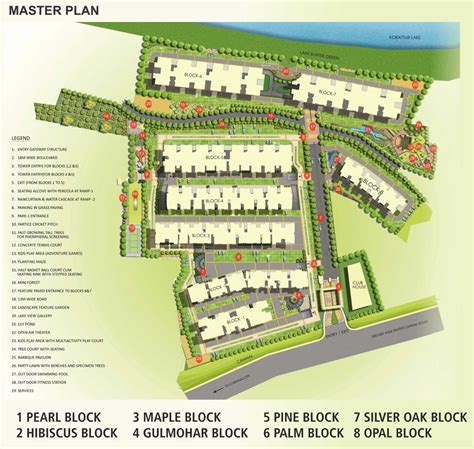master plan housing flats at chennai orchid springss master plan