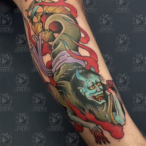 oriental ghost tattoo japanese ghost tattoo by vincent penning darko s oneness
