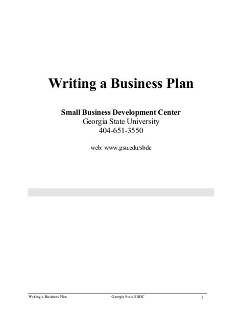 business link business plan template business plan outline