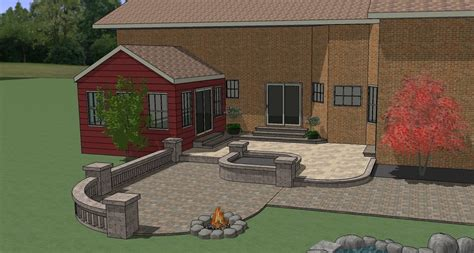 patio layout design exles designing a patio layout talentneeds com