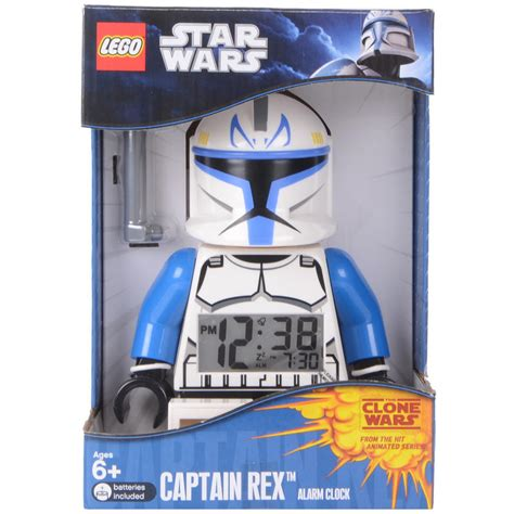 Wars L With Alarm Clock by Lego Minifigure Style Wars Captain Rex Digital Alarm