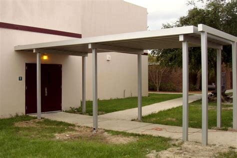 walkway awnings canopies aluminum walkway canopy gallery