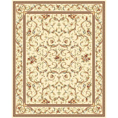 Safavieh Carpets by Safavieh Lyndhurst Light Blue Ivory 8 Ft X 11 Ft Area