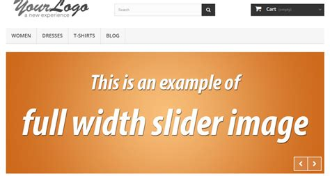 what is the width of a full size bed full width slider in prestashop 1 6