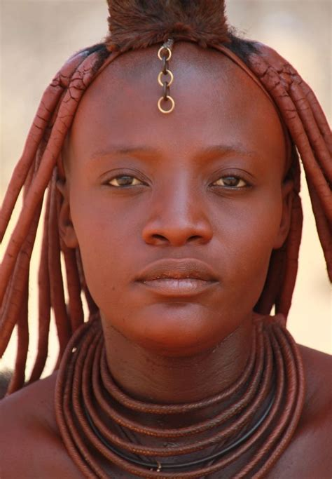 himba african tribe people himba woman himba women rub their bodies and hair with
