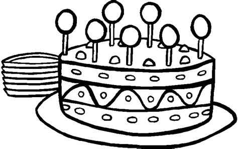 crayola birthday cake coloring page free coloring pages of cakes
