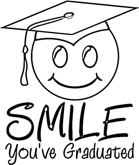 graduation color pages az coloring pages