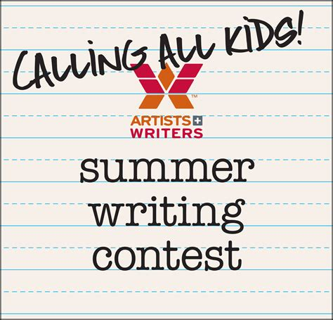 Writing Sweepstakes - summer writing contest artists and writers