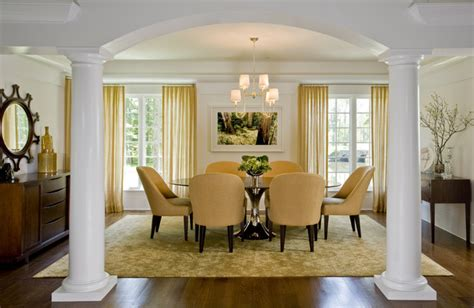 Houzz Green Dining Room Green Design In Ct Contemporary Dining Room New York