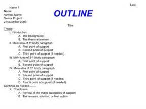 Outline Method Statement by View Past Senior Thesis Papers And Projects
