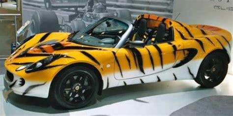 cool wrapped cars lotus elise tiger top10 vehicle wraps vehicle wraps