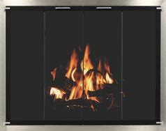 Stainless Steel Fireplace Doors by Outdoor Collection Of Fireplace Glass Doors