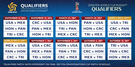 Calendrier World Cup 2018 Printable World Cup 2018 Calendar Free