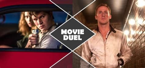 Drive Vs Baby Driver | movie duel baby driver vs drive the agony booth