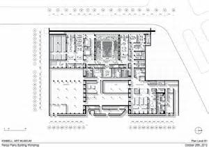 kimbell museum floor plan gallery of kimbell art museum expansion renzo piano