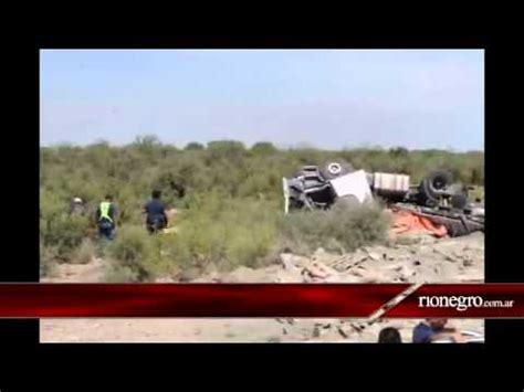 diario rio negro diario r 237 o negro conesa accidente ruta 251 muri 243
