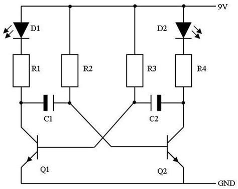 cara membuat lu led otomatis sederhana cara membuat lu led flip flop sederhana cara membuat