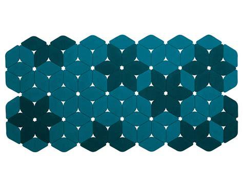 tappeti feltro tappeto a motivi in feltro kaleidoscope by lenti
