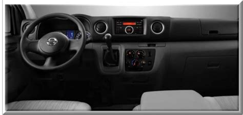 nissan urvan 2013 interior urvan 2014 interior autos weblog