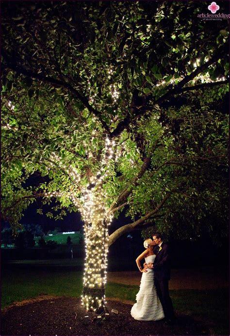 light wedding decor from idea to realization