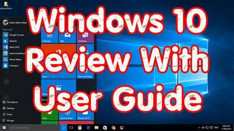 windows 10 beginners guide tutorial youtube windows 10 preview tricks tutorial review beginners